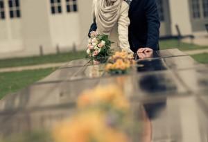 weddingshots.de: Brautpaarfotos am Schloss Koblenz