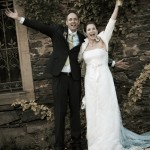 weddingshots.de: Hochzeitspaar auf Schloss Liebieg, Kobern-Gondorf