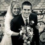 weddingshots.de: Hochzeitspaar am Schloss Engers