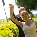 Brautpaar im Odenwald