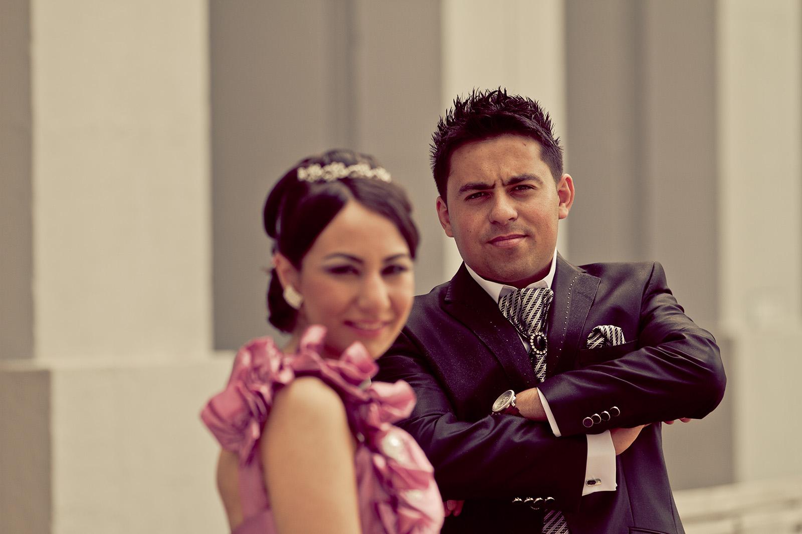 weddingshots.de: Türkisches Hochzeitspaar am Schloss Koblenz