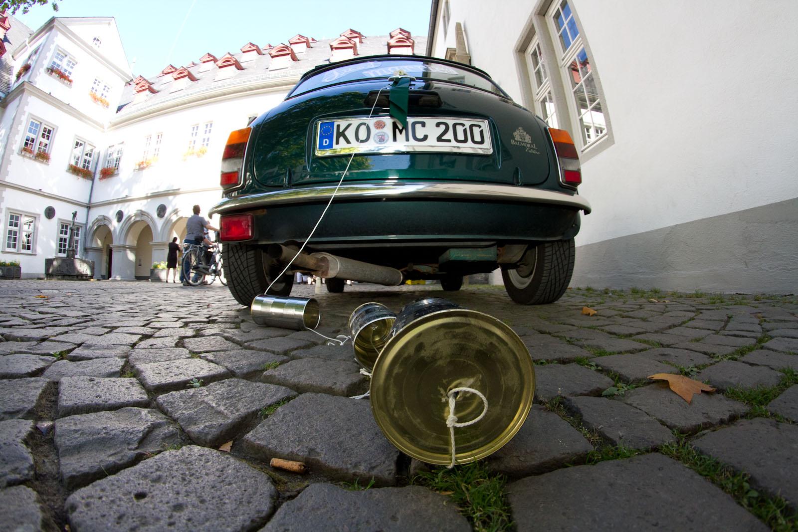 Brautwagen Original-Mini in Koblenz
