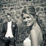 Hochzeitspaar auf Burg Sayn
